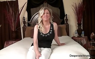 Casting hot milf Sabrina Desperate Amateurs
