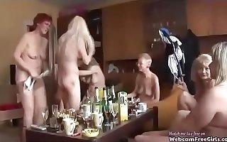 Mature orgy must watch