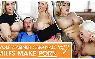 Threesome for MILF Sophie Logan & Mia Blow! wolfwagner.com
