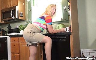 An elder woman means fun part 399