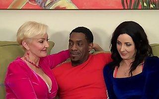 Seka Together with Helena Enjoy Interracial BBC