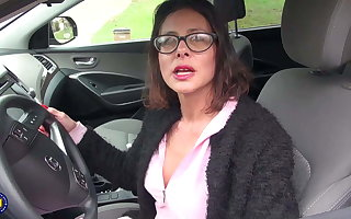 Naughty MILF with big juicy pussy lips loves involving counterfeit in foreign lands