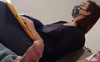 I pull my cock in foreign lands in the dentist's waiting room