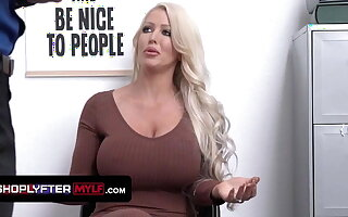 Huge Titted Milf Alura Jenson Gets Pounded Be incumbent on Harassment
