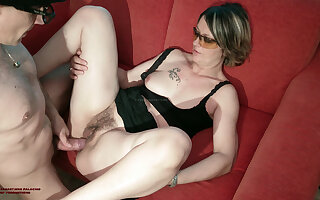 Straightforward FUCK Boycott COUGAR SPIES ON HER GIRL'S BOY AND HIS COCK