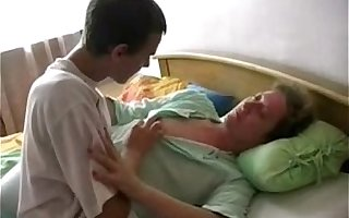 Sleeping mature vs young guy